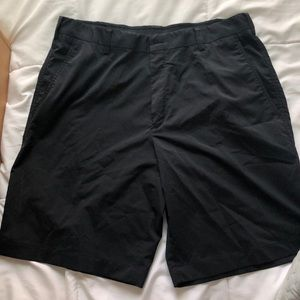 Men's Nike Black Fit Dry Golf Shorts Size 36